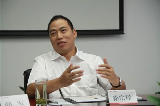 南车株洲电力机车公司总经理徐宗祥