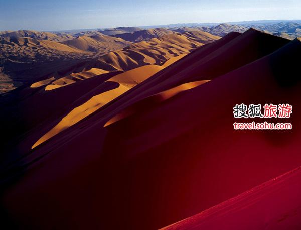 巴丹吉林沙漠景区