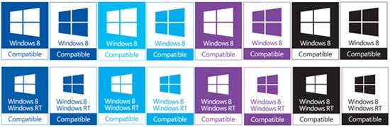 Windows 8和Windows RT兼容Logo