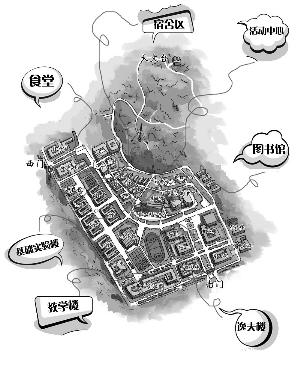 """用手绘地图""""读""""南京"""