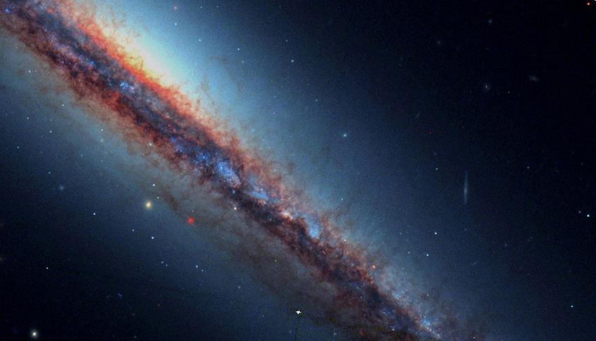 哈勃太空望远镜拍 天国世界 神秘深邃