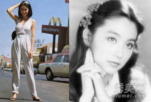 80年代真金派美人   提到林青霞在娱乐圈,不管是多少年的息影,都图片