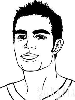 动漫 简笔画 卡通 漫画 手绘 头像 线稿 295_390 竖版 竖屏