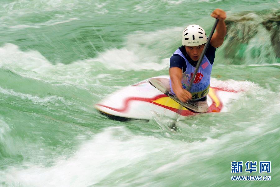 2012年全国皮划艇高清射击锦标赛开赛[激流](组图)7.0回旋猎人图片