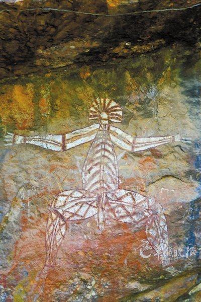 卡卡杜岩画