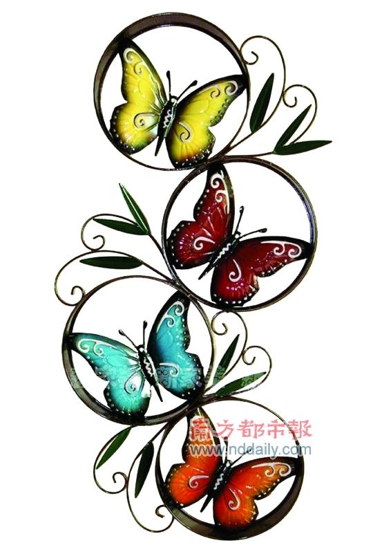 一只蝴蝶代表虚幻,那是庄周的境界;两只蝴蝶寄托爱情,那是梁祝的痴迷图片