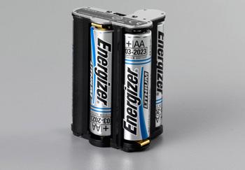 购买配件后可直接使用五号电池