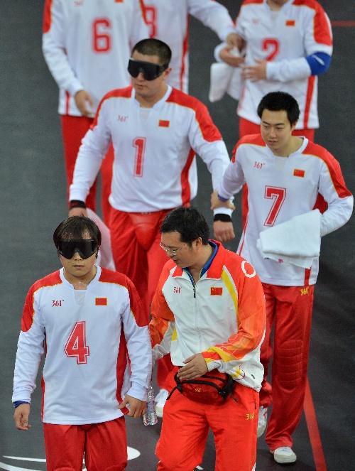 教练:残奥门球队员赛况中国队图文与盲人张家界蹦极要花多少钱图片