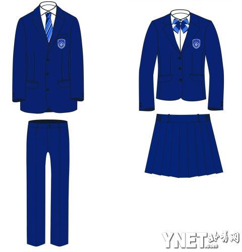 女校服设计手绘