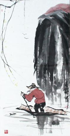 极简至奢 至静而雅——夜品开选先生写意画(图)图片
