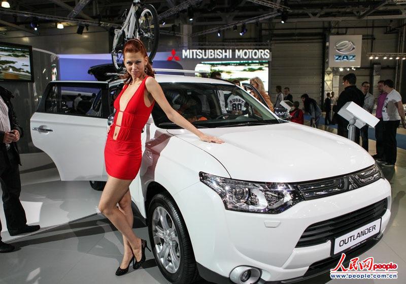 高清组图:2012年莫斯科国际车展掠影