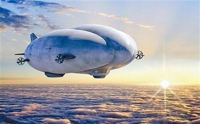 新型无人飞艇