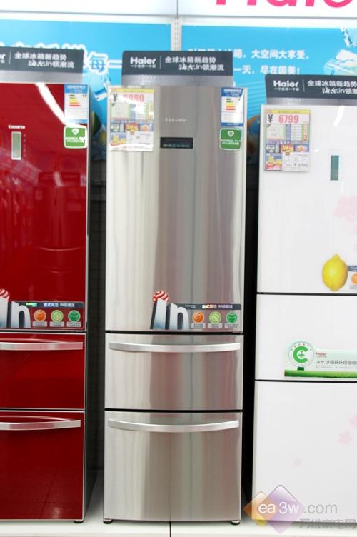 卡萨帝BCD-318WSL意式冰箱的金属面板质感十足,时尚经典大气,为成功人士量身设计。
