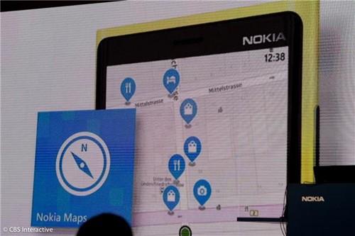 新版诺基亚地图服务(图片来自CNET)