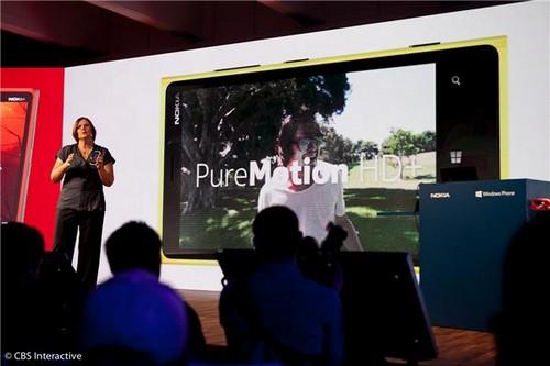 诺基亚PureMotion HD+技术(图片来自CNET)