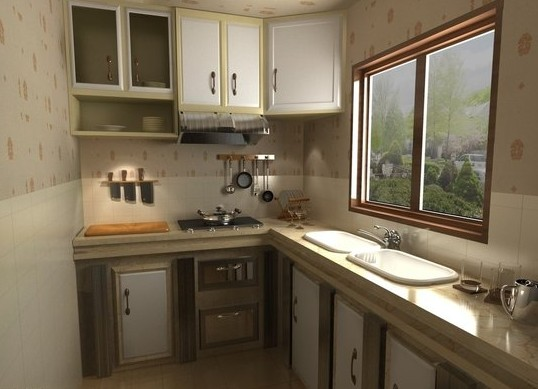 装修心得:我家厨房必须是法恩莎瓷砖(图)
