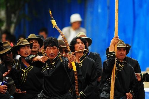 民族:传统国际击球邀请赛开幕图文弓团体赛保龄球最多射箭图片