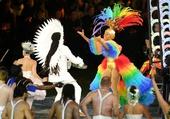 图文:伦敦残奥会闭幕式举行 里约八分钟