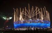 图文:伦敦残奥会闭幕式举行 华丽的伦敦碗