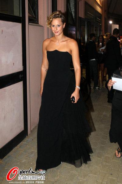 佩莱格里尼抹胸黑裙