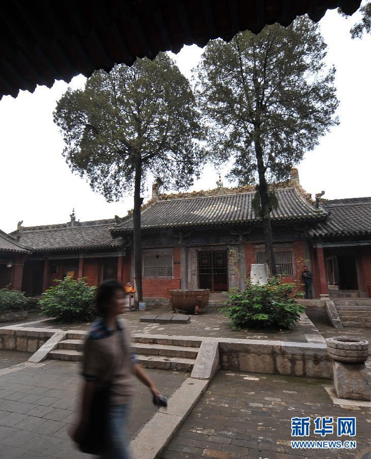 国内唯一的二十八星宿塑像所在地玉皇庙加紧修缮