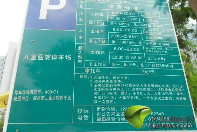 其他人士停车则按照停车场收费标准收费,具体情况见下表.