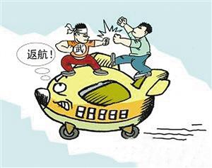 北京 银川/漫画:空中打架