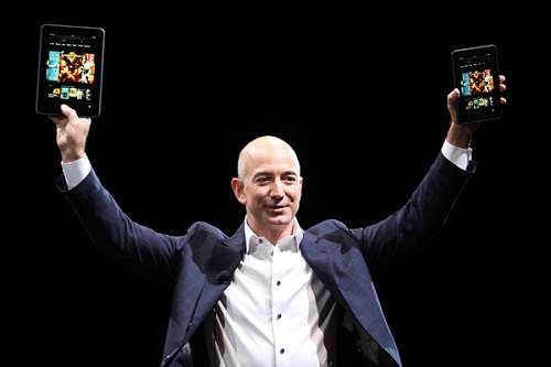 亚马逊CEO Jeff Bezos