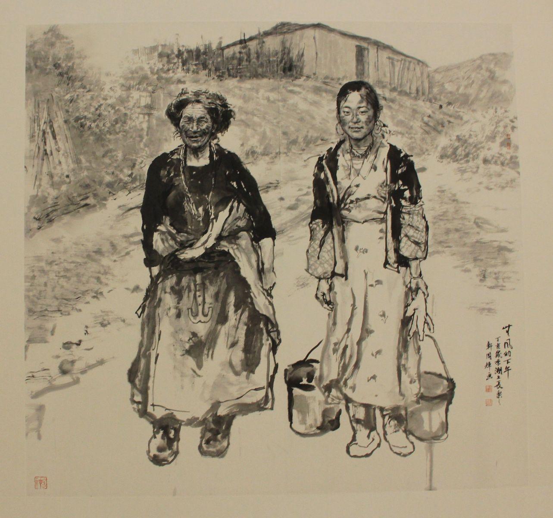 浙江/今日上午10时,刘国辉画展在浙江美术馆开幕,本次展览展出的...
