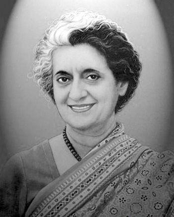 (1917年―1984年),印度独立后首任总理尼赫鲁的女儿,印度近代最为著名及存有争议的政治人物之一,担任两届印度总理。1984年,英迪拉被两个锡克族保镖刺杀身亡。