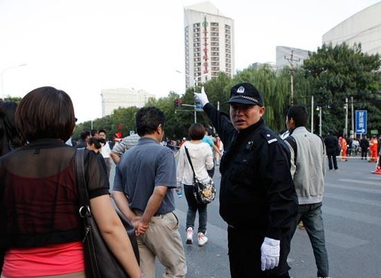 警方都保持良好的态度