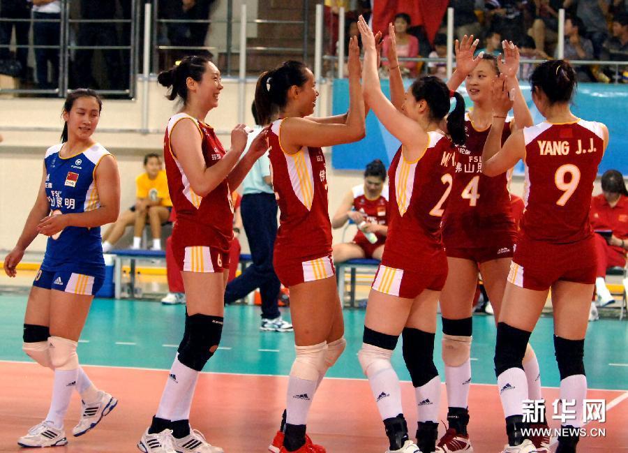 中国女排亚洲杯名单_亚洲杯:中国女排晋级决赛[高清](组图)