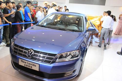 上海大众全新朗逸青岛区域上市会,在青岛国际会展中心上海大众汽车展