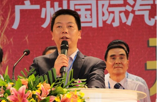 点金传媒董事长谭荣耀发表致