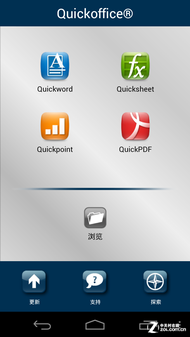 Quickoffice�ɲ鿴�򴴽��ĵ�
