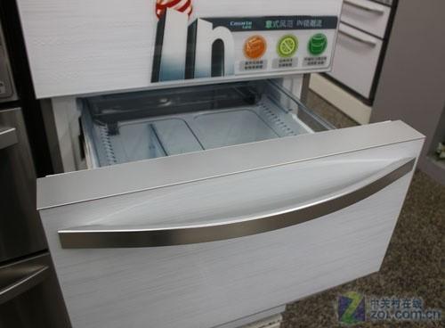 变频节能先锋 卡萨帝三门风冷冰箱热销