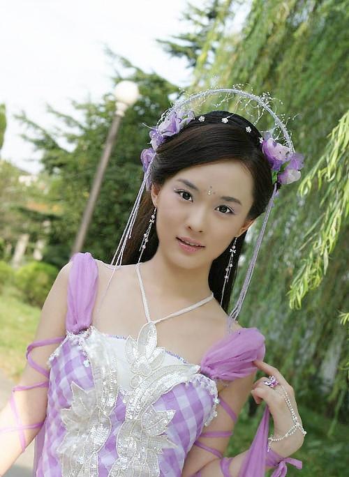 刘诗诗杨幂刘亦菲 惊艳一瞥的古装美女(组图)