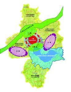 西翼:以紫蓬山国家森林公园-莲花山生态保育区-肥西三岗乡村旅游区为