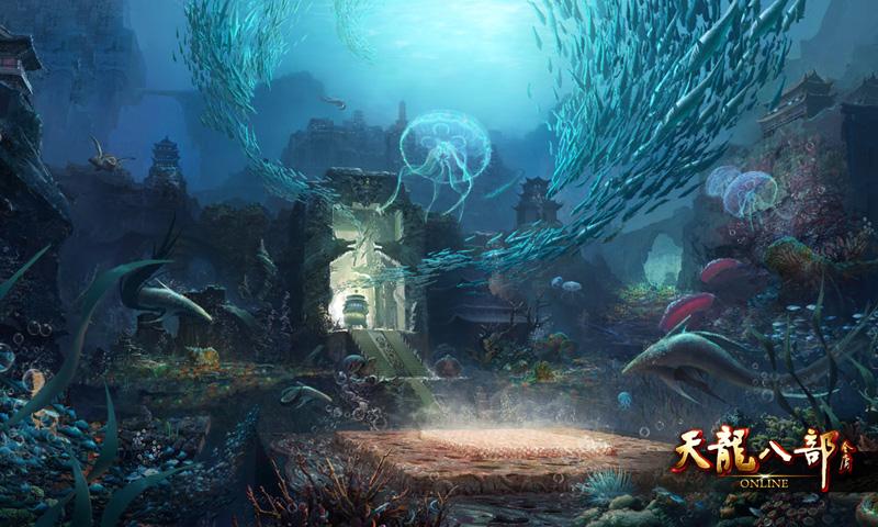 壁纸 海底 海底世界 海洋馆 水族馆 游戏截图 800_480