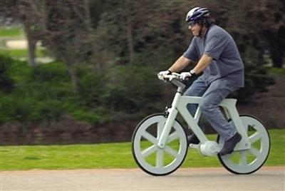 以色列工程师发明纸板自行车 成本为16美元(图)
