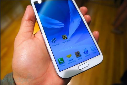 三星Galaxy Note II 真机现身 香港预售开始