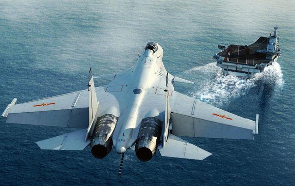 资料图:中国航母入役想象图。