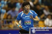图文:女乒世界杯冯天薇晋级 冯天薇致歉对手