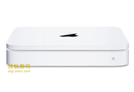 苹果的AirPort Extreme无线网络基站