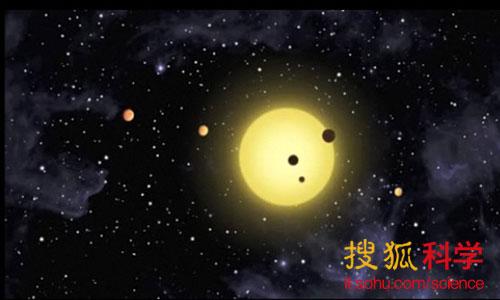 """格利泽-163c约有2%的概率经过格利泽-163母星与太阳中间。科学家能通过这种""""凌日""""过程获得这颗行星更详细的信息。"""