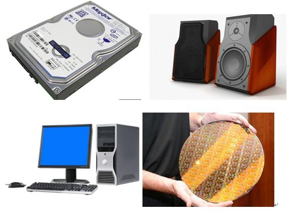 硬盘、音箱、显示器、CPU等IT产品都离不开稀土资源钢铁痛