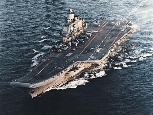 俄罗斯库兹涅佐夫号。