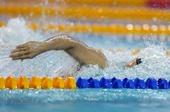 图文:全国游泳锦标赛赛况 蒋宇辉在比赛中