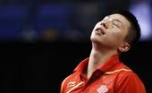 图文:男乒世界杯马龙0-4庄智渊 马龙十分失落