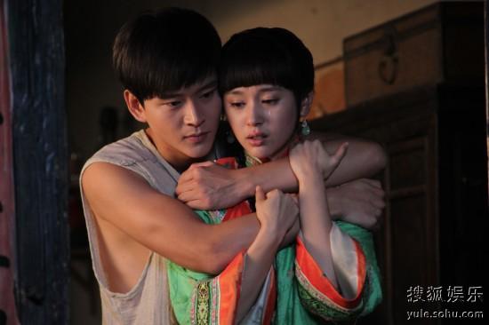 青年演员黄明,蒋梦捷,许绍洋,贺刚等主演的民国传奇大戏《刺青海娘》
